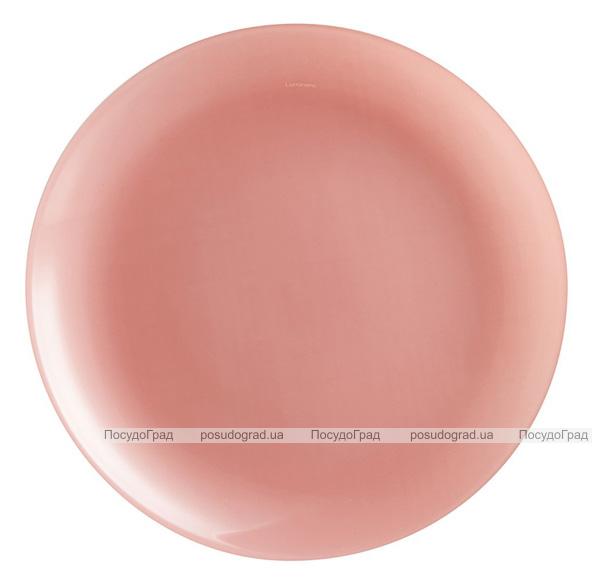 Набір 6 десертних тарілок Luminarc Arty Blush Ø20.5см, скло
