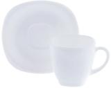 Чайный сервиз Luminarc Carine White 6 чашек 220мл и 6 блюдец
