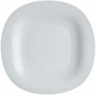 Набір 24 обідніх тарілки Luminarc Carine Granit, квадратні 27см