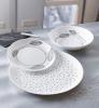 Набор 6 десертных тарелок Luminarc Sketch Ø19см, стеклокерамика