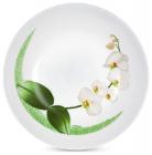 Набір 6 супових тарілок Luminarc White Orchid Ø20см, склокераміка