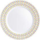 Набор 6 обеденных тарелок Luminarc Trigone Ø26.5см, стеклокерамика