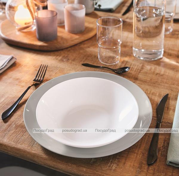 Набір 6 обідніх тарілок Luminarc Diwali Granit Ø25см