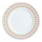 Набор 6 десертных тарелок Luminarc Trigone Ø19см, стеклокерамика
