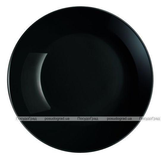 Набір 6 супових тарілок Luminarc Diwali Black Ø20см