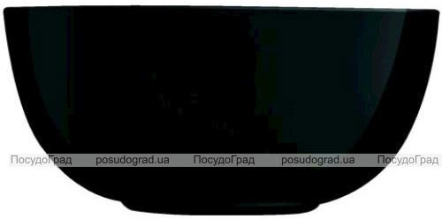 Набір 6 салатників Luminarc Diwali Black Ø21см