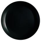Набор 6 обеденных тарелок Luminarc Diwali Black Ø25см