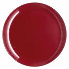 Набір 6 десертних тарілок Luminarc Arty Burgundy Ø20.5см, скло
