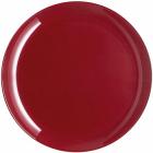 Набор 6 обеденных тарелок Luminarc Arty Burgundy Ø26см, стекло