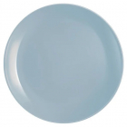 Набор 6 обеденных тарелок Luminarc Diwali Light Blue Ø25см