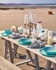 Столовий сервіз Luminarc Diwali Light Turquoise на 6 персон 19 предметів