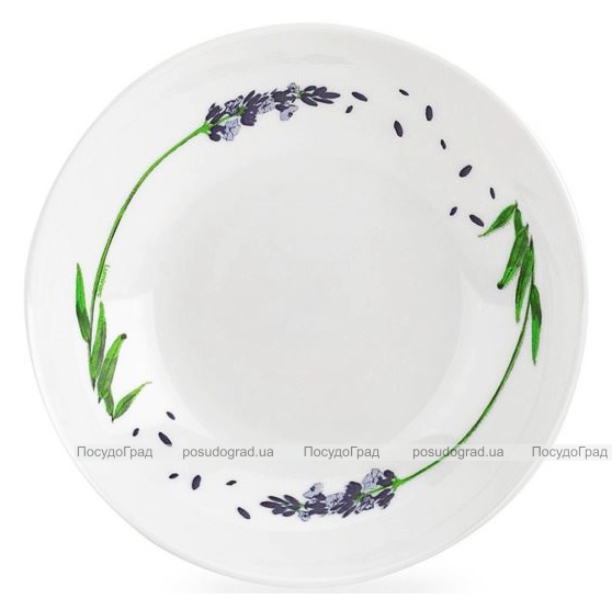 Набор 6 суповых тарелок Luminarc Lavender Ø20см, стеклокерамика