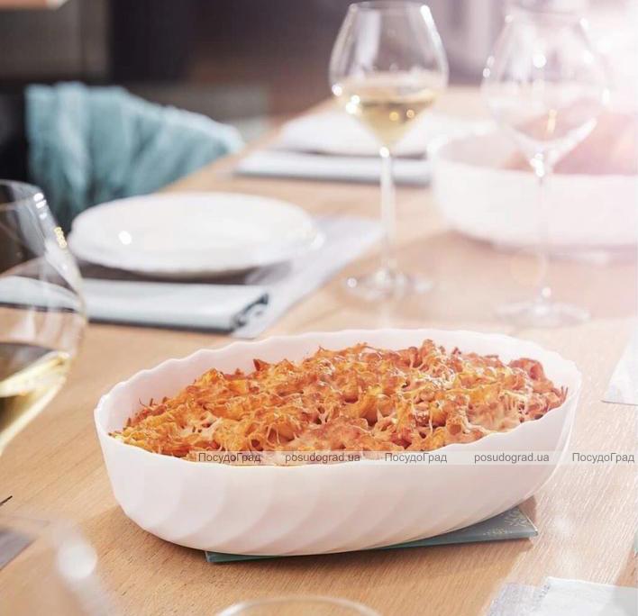 Блюдо для запікання Luminarc Trianon овальне 37х29см, склокераміка