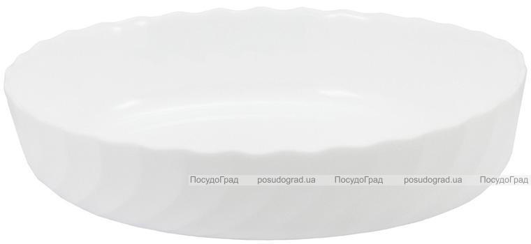 Блюдо для запікання Luminarc Trianon кругле Ø26см, склокераміка