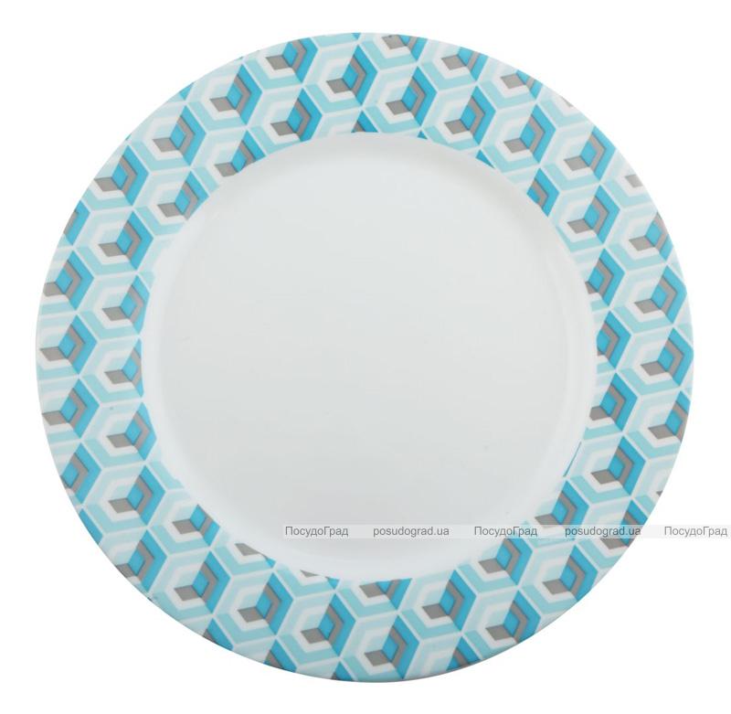 Набір 6 десертних тарілок Luminarc Astelia Blue Ø19см