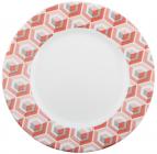 Набор 6 обеденных тарелок Luminarc Astelia Pink Ø26.5см