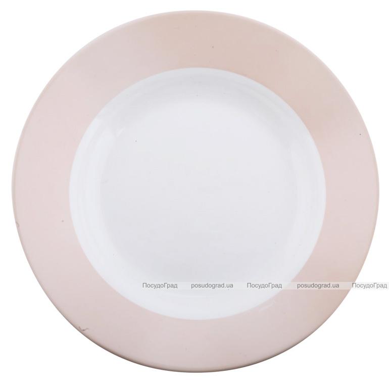 Набір 6 супових тарілок Luminarc Astelia Pink Ø22см