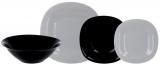 Столовий набір Luminarc Carine Granit&White 18 предметів на 6 персон
