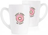 Набор 2 кружки Luminarc New Morning Donut Worry 320мл, стеклокерамика