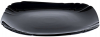 Набір 6 обідніх тарілок Luminarc Lotusia Black Ø25.5см, склокераміка