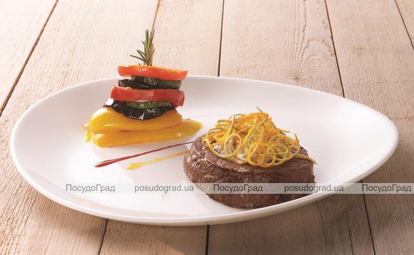 Набір 6 блюд для стейка Arcopal Friends Time Ø30см, склокераміка