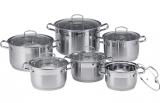 Набор кухонной посуды Luxberg Legend-B 6 кастрюль с крышками