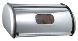 Хлібниця LUXBERG Farina 36x24x15см з нержавіючої сталі