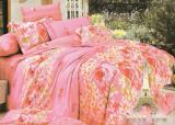 """Комплект постельного белья Love You Сатин-лайт """"Pink"""" Евро"""
