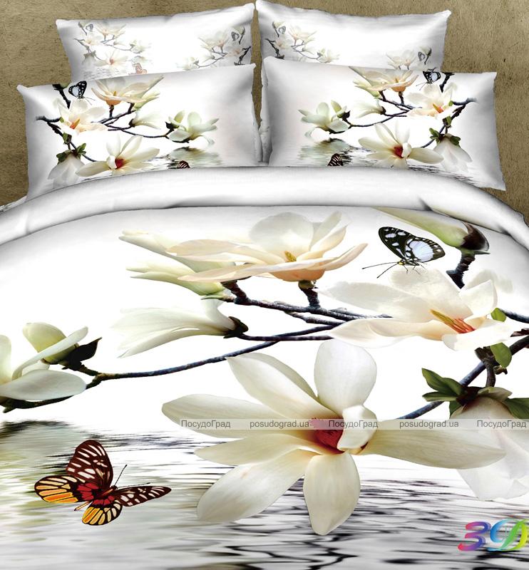 1ad432a75221 Комплект постельного белья Love You Сатин 3D