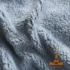 Плед-покрывало меховое Love You 200х220, серый