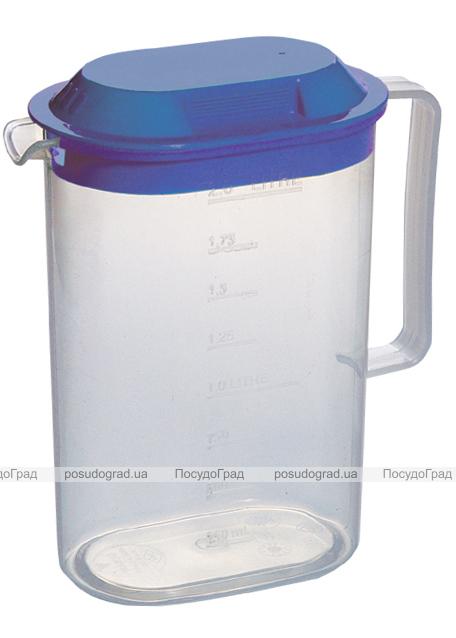 Кувшин пластиковый Ucsan с крышкой 2л