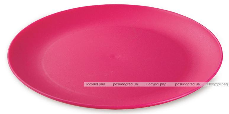 Тарелка Ucsan пластиковая мелкая 24см круглая