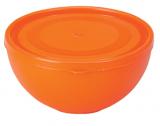 Піала Ucsan Frosted Bowl пластикова 600мл кругла з кришкою