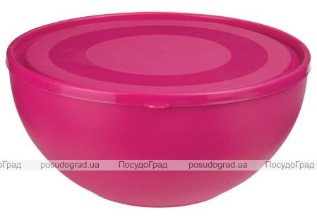 Пиала Ucsan Frosted Bowl пластиковая 1200мл круглая с крышкой