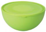 Салатница Ucsan Frosted Bowl пластиковая 4000мл круглая с крышкой