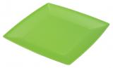 Тарілка Ucsan пластикова дрібна 19см квадратна