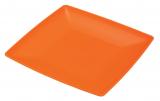 Тарелка Ucsan пластиковая мелкая 24см квадратная