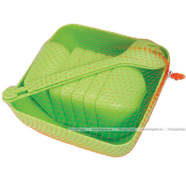 Набор салатниц Ucsan квадратные 9 предметов в сетке