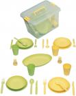 Набір для пікніка Ucsan на 4 персони 28 предметів в ящику
