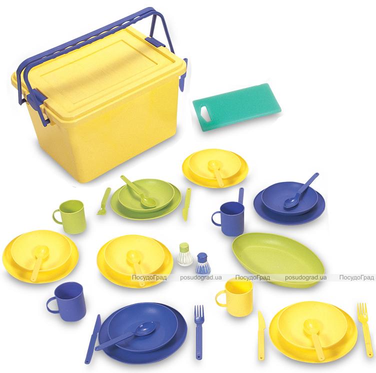 Набор для пикника Ucsan на 6 персон 41 предмет в ящике