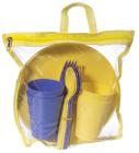 Набір для пікніка Ucsan на 4 персони 20 предметів в сумці