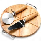 Набор для пиццы Mayer&Boch доска, нож и лопатка