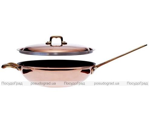 Сковорода-вок Ballarini Il Rame Ø28см медная и антипригарное покрытие