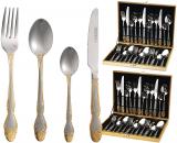 Набор столовых приборов Miller House 2459 Дипломат 24 предмета на 6 персон