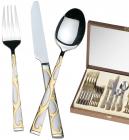 Набор столовых приборов Miller House-35 Деревянная коробка 24 предмета на 6 персон