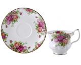 Чайный сервиз Milleroy&House 220мл 12 предметов Куст розы