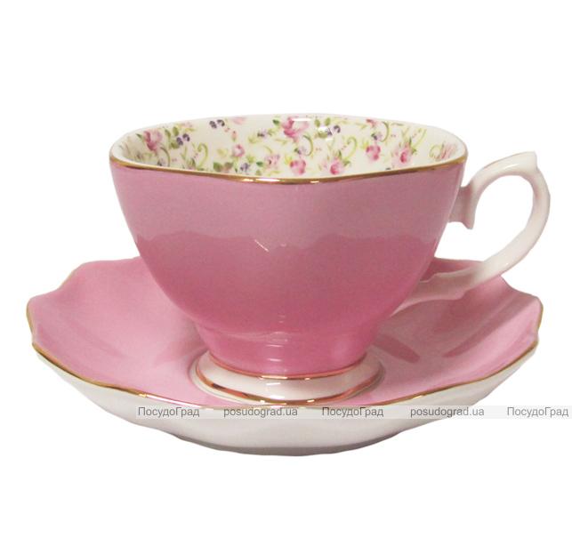 """Чайный сервиз Milleroy&House 220мл 12 предметов """"Розовая"""""""