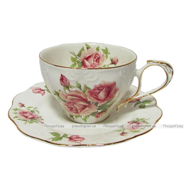 """Чайный сервиз Milleroy&House 240мл 12 предметов """"Чайная роза"""""""