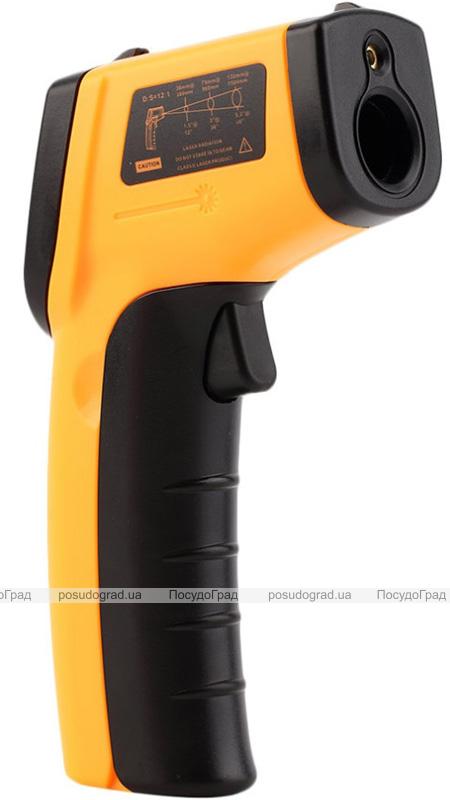 Термометр цифровой дистанционный (пирометр) ИК -50С до +380С с лазерным указателем