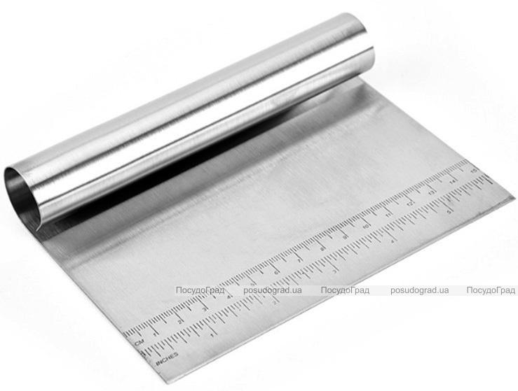 Шпатель-різак RYJ для тіста 15см ніж з нержавіючої сталі